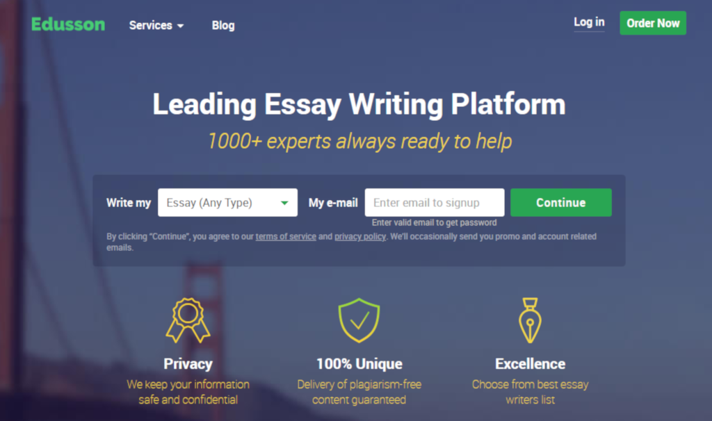 Edusson Review – Price, Quality, Interface, Deadlines and more